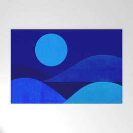 Abstraction_Moonlight Welcome Mat