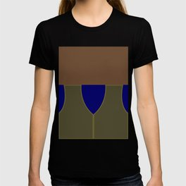 Jake Sisko - Minimalist Star Trek DS9 Deep Space Nine - Trektangle - Trektangles startrek T-shirt