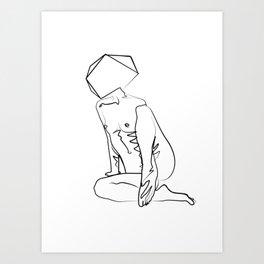Nude Clone Art Print