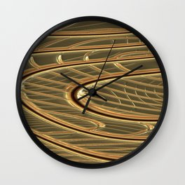 modern metalArt Wall Clock