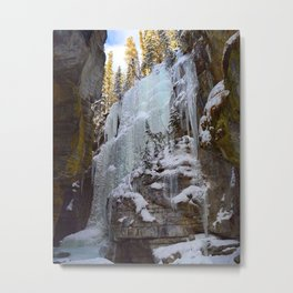 The Queen of Maligne Canyon, Jasper National Park Metal Print