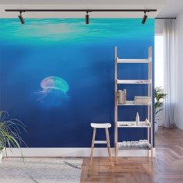 A Jellyfish Wall Mural