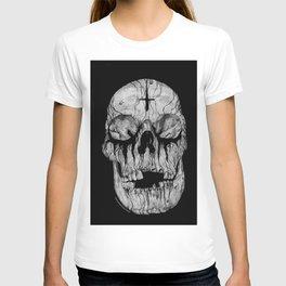 Black blooded T-shirt