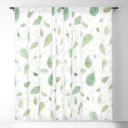 Spring Leaves Blackout Curtain