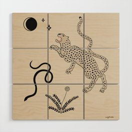 Desert Prey Wood Wall Art
