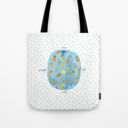 Pineapple Pura Vida Tote Bag
