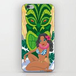 Wahine Heaven iPhone Skin