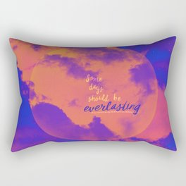 Some days should be everlasting by #Bizzartino Rectangular Pillow