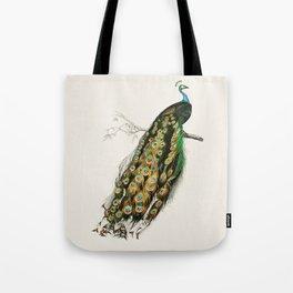 Peacock Royale Tote Bag