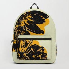 Gold Gerber daisy  Backpack