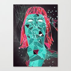 triangular stare Canvas Print