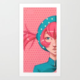 Candygirl Art Print
