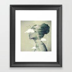 Geo Dress Framed Art Print