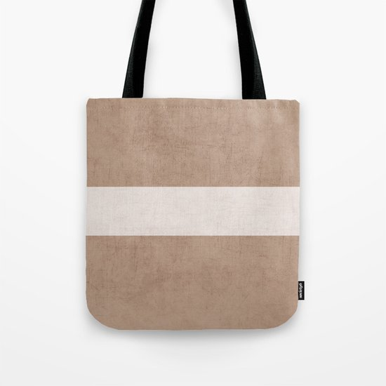 natural and white classic Tote Bag