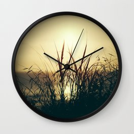 Newquay Sunset Wall Clock