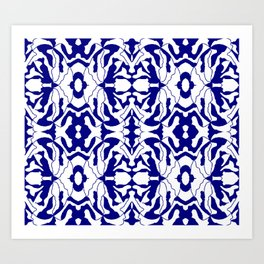 lacyFlowers Art Print