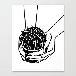 Cactus graphic illustration Canvas Print