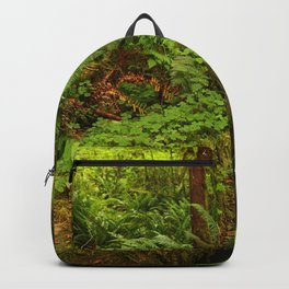 In The Cold Rainforest Backpack