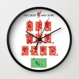 THE BEST TEAM IN THE WORLD Wall Clock