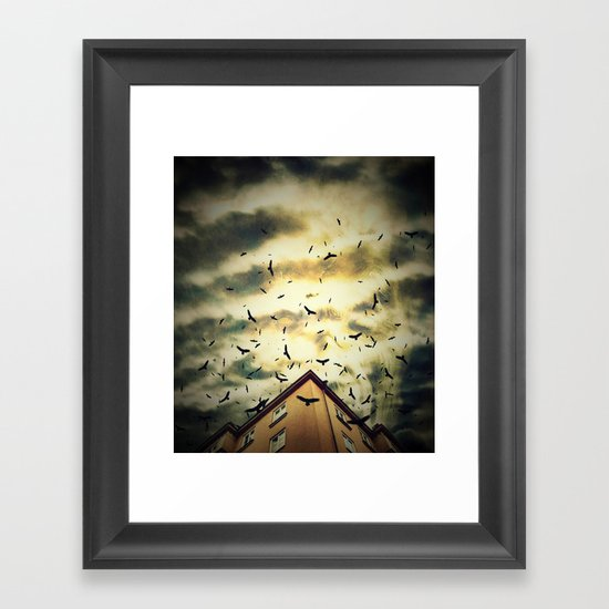 Somebody is watching you Framed Art Print