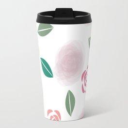 Abstract Roses Travel Mug