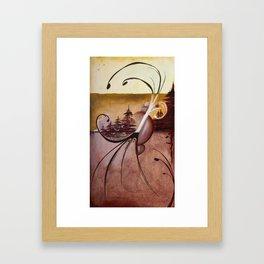 Tuscan Evergreen Framed Art Print