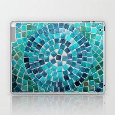 circular - photograph of mosaic tiles Laptop & iPad Skin