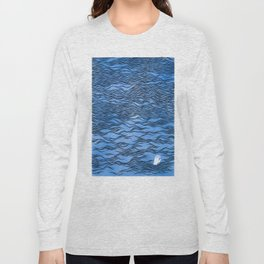 Man & Nature - The Dangerous Sea Long Sleeve T-shirt