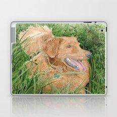 Golden Retriever Conan Laptop & iPad Skin