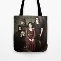 family Tote Bags featuring Family by Flashbax Twenty Three