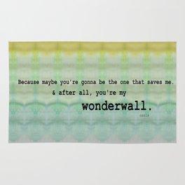 Wonderwall - Oasis Rug