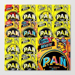 Parampan Pan Canvas Print