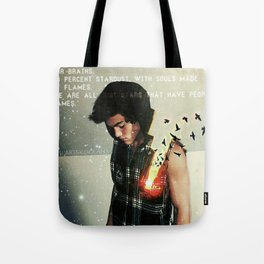 Souls made of flames Tote Bag