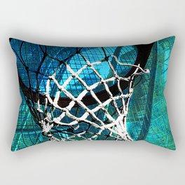 Basketball vs 44 Rectangular Pillow