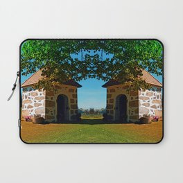 The Binder chapel (and some tree) Laptop Sleeve