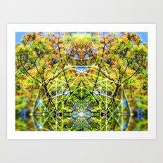 GeoBotanica V2 Art Print