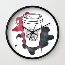 With great power... [Percy Jackson] Wall Clock