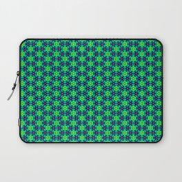 Bubble Pattern in Green Laptop Sleeve