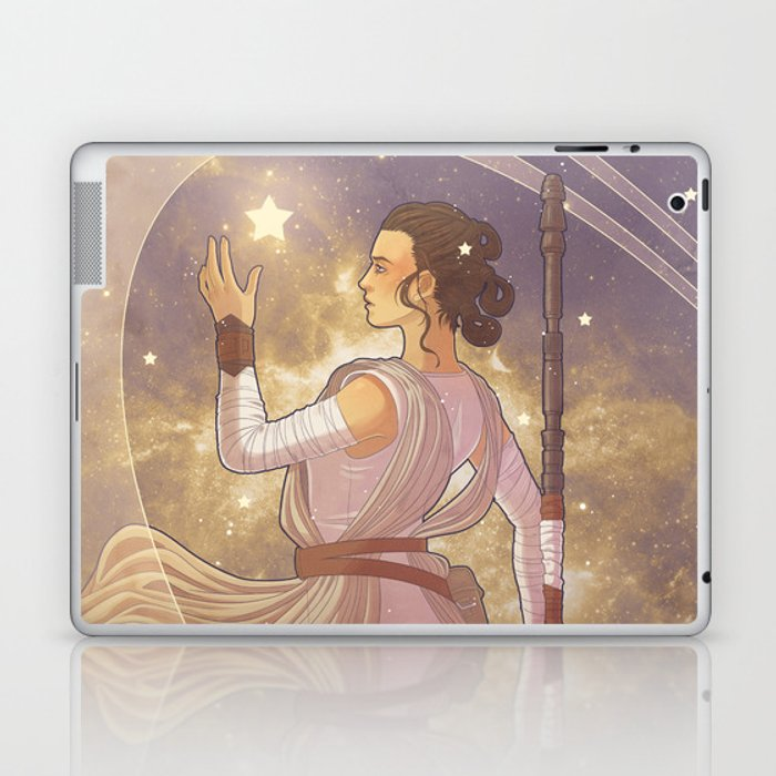 Lady of Light III Laptop & iPad Skin