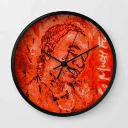 Thug,travis,so much fun,album,red,deluxe,thugger,music,rap,rapper,hiphop,lyrics,poster,art,painting, Wall Clock