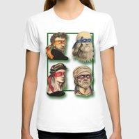 renaissance T-shirts featuring Renaissance Mutant Ninja Artists by Rachel M. Loose