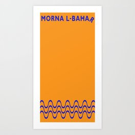 Morna l-Bahar  Art Print