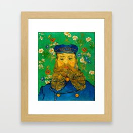 "Vincent van Gogh ""Portrait of Joseph Roulin"" Framed Art Print"