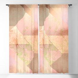 Layered Shapes Ink Splash 02 Blackout Curtain