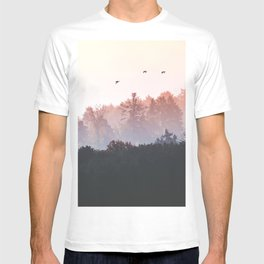 Birds in the fall T-shirt