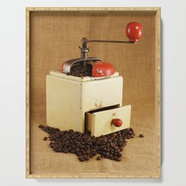 coffee grinder 2 Serving Tray