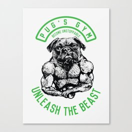 UNLEASH THE BEAST Canvas Print