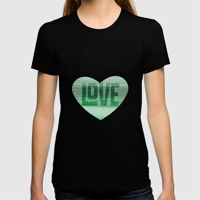 Stripey Mint T-shirt