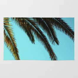 Palm Tree Blue Sky Rug