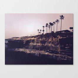 Sunset Cliffs Canvas Print